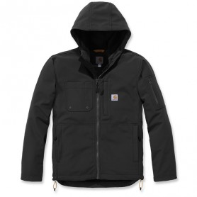 Veste softshell à capuche Rough Cut CARHARTT 103829 - DÉSTOCKAGE