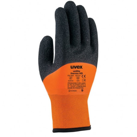 10 paires de gants de protection froid Unilite Thermo HD UVEX 60942