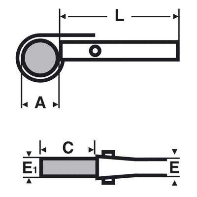 Manchette anti-coupure Unidur Sleeve C UVEX 60973