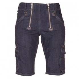 Bermuda largeot denim stretch homme Volkmar FHB 22635