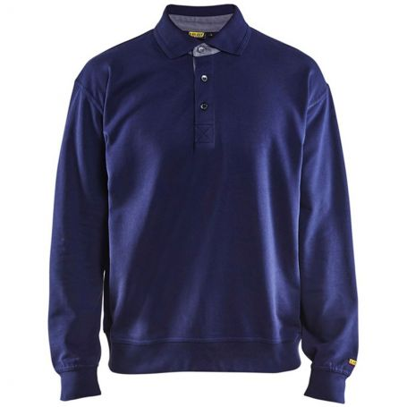 Sweat de travail col polo BLAKLADER 3370
