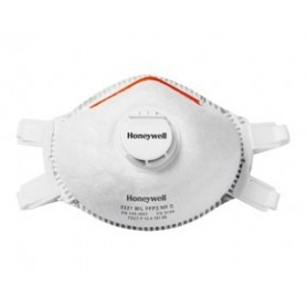 5 masques FFP3 avec Valves 5321 M/L HONEYWELL 1030340