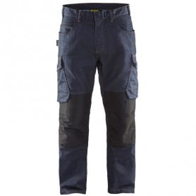 Pantalon services denim stretch BLAKLADER 1497