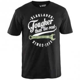 "T-shirt homme imprimé ""Tougher than the rest"" BLAKLADER 9157"
