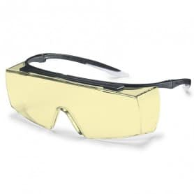 Surlunettes de protection jaune Super F OTG UVEX 9169580