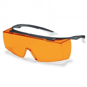 Surlunettes de protection orange Super F OTG UVEX 9169615