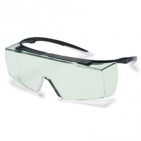 Surlunettes de protection vert Super F OTG UVEX 9169850