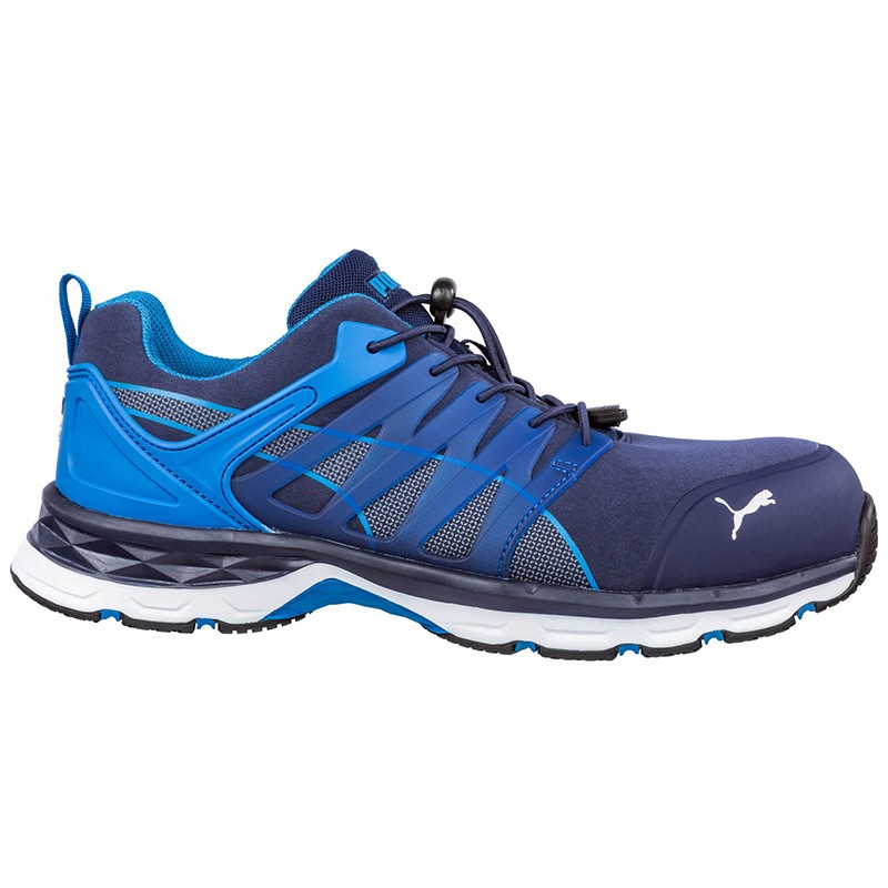 6ccf512810e53 Baskets de travail bleu homme S1P | 643850 Velocity 2.0 Blue Low - PUMA  SAFETY