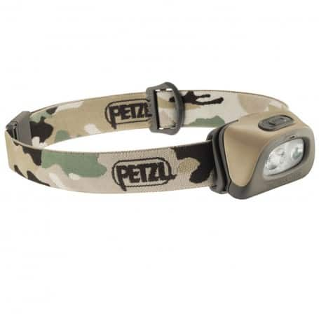 Lampe frontale Tactikka +RGB camouflage PETZL E89ABB