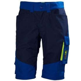 Short de travail bleu Aker HELLY HANSEN WORKWEAR 77402- DÉSTOCKAGE
