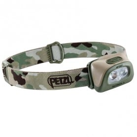 Lampe frontale Tactikka + camouflage PETZL E089EA01