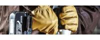 Gants de travail en cuir : Équipement de protection individuelle (EPI)