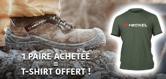 Promotion chaussures Heckel