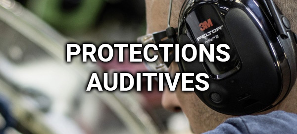 Protections auditives : casque antibruit, coquille, bouchons d'oreilles