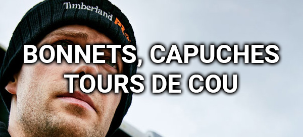 Bonnets, capuches, tours de cou, caches-col